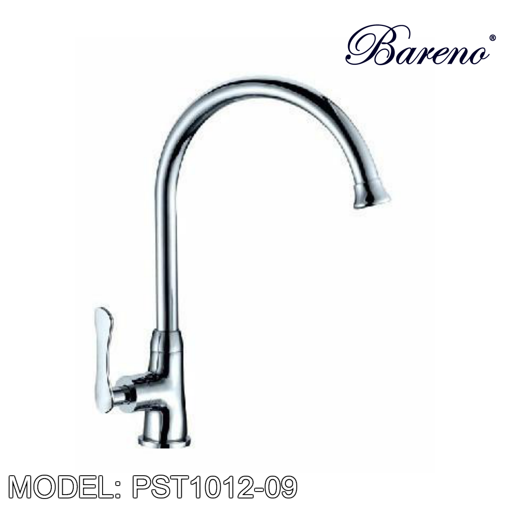 BARENO PLUS Pillar Sink Tap PST1012-09, Kitchen Faucets, BARENO PLUS - Topware Solutions