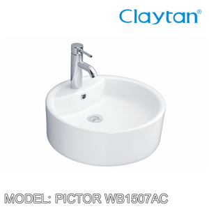 CLAYTAN Pictor Counter Top Basin WB1507AC, Bathroom Basins, CLAYTAN - Topware Solutions