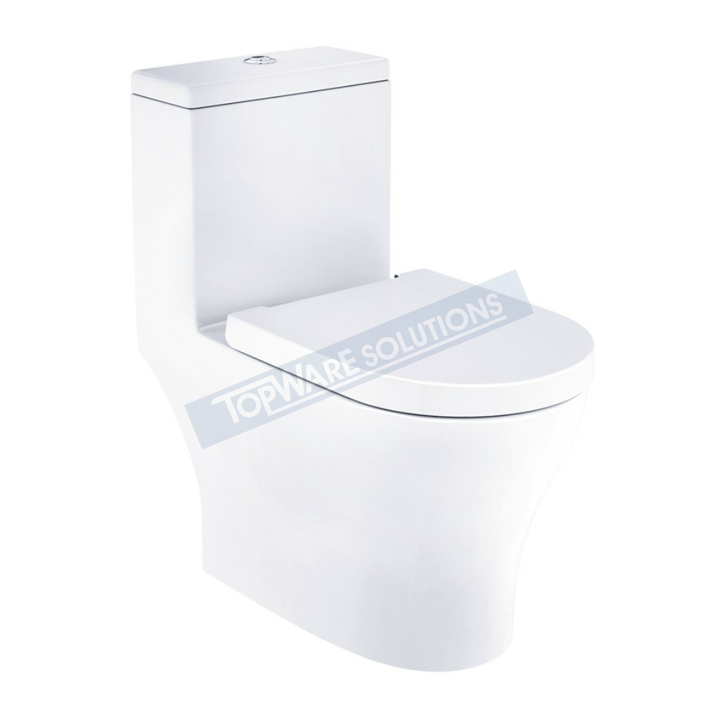 JOHNSON SUISSE Pisa One Piece WBSEP110WW, Bathroom W.Cs, JOHNSON SUISSE - Topware Solutions
