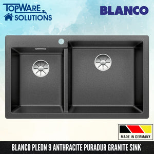 BLANCO Pleon 9 Silgranit™ PuraDur™ Granite Sink With InFino™ Waste, Kitchen Sinks, BLANCO - Topware Solutions