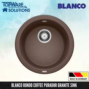 BLANCO Rondo Silgranit™ PuraDur™ Granite Sink, Kitchen Sinks, BLANCO - Topware Solutions