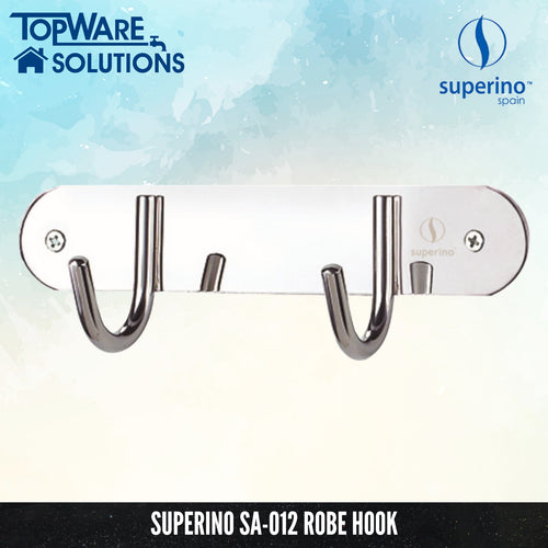 SUPERINO SA-012 Robe Hook, Bathroom Accessories, SUPERINO - Topware Solutions