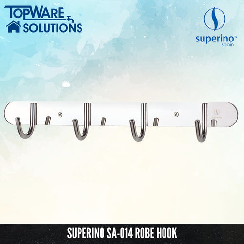 SUPERINO SA-014 Robe Hook, Bathroom Accessories, SUPERINO - Topware Solutions