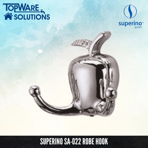 SUPERINO SA-022 Robe Hook, Bathroom Accessories, SUPERINO - Topware Solutions