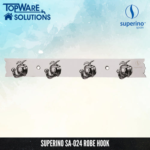SUPERINO SA-024 Robe Hook, Bathroom Accessories, SUPERINO - Topware Solutions