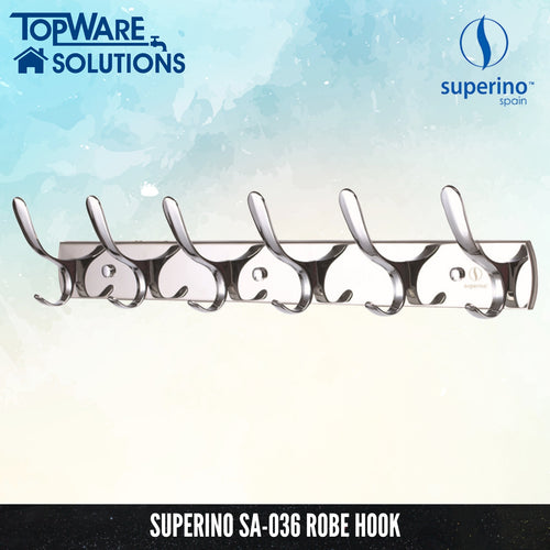 SUPERINO SA-036 Robe Hook, Bathroom Accessories, SUPERINO - Topware Solutions