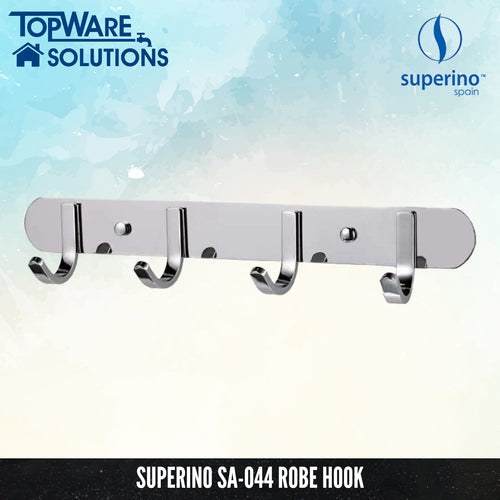 SUPERINO Robe Hook SA-044, Bathroom Accessories, SUPERINO - Topware Solutions