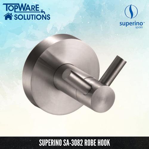 SUPERINO Robe Hook SA-3082, Bathroom Accessories, SUPERINO - Topware Solutions