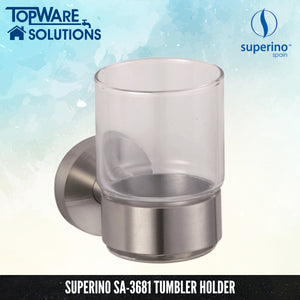 SUPERINO Tumbler Holder SA-3681, Bathroom Accessories, SUPERINO - Topware Solutions