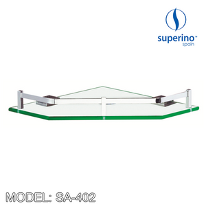 SUPERINO Glass Shelf SA-402 Bathroom Accessories SUPERINO - Topware Solutions