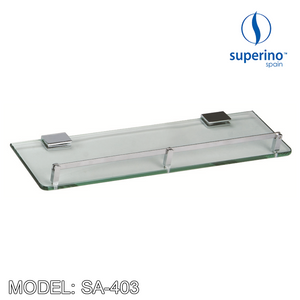SUPERINO Glass Shelf SA-403 Bathroom Accessories SUPERINO - Topware Solutions