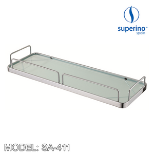 SUPERINO Glass Shelf SA-411 Bathroom Accessories SUPERINO - Topware Solutions