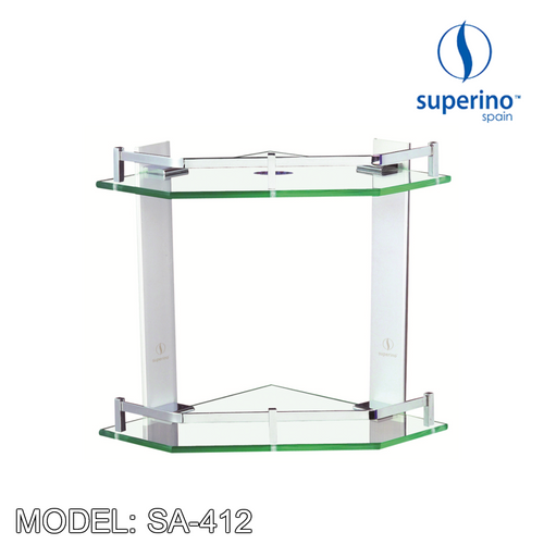 SUPERINO Glass Shelf SA-412 Bathroom Accessories SUPERINO - Topware Solutions