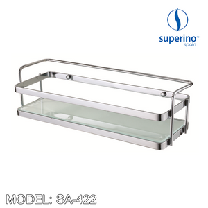 SUPERINO SA-422 Rectangular Basket / Rack 430mm, Bathroom Accessories, SUPERINO - Topware Solutions