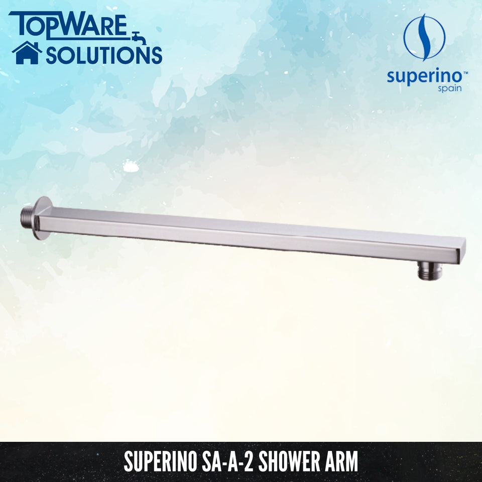 SUPERINO Shower Arm SA-A-2, Bathroom Faucets, SUPERINO - Topware Solutions