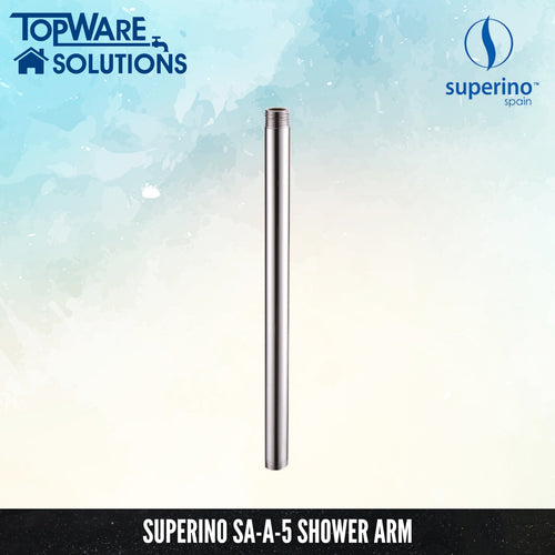 SUPERINO Shower Arm SA-A-5, Bathroom Faucets, SUPERINO - Topware Solutions