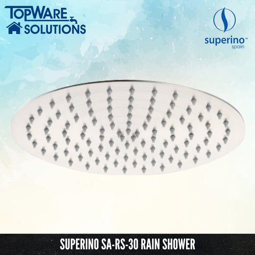SUPERINO Rain Shower SA-RS-30, Bathroom Faucets, SUPERINO - Topware Solutions
