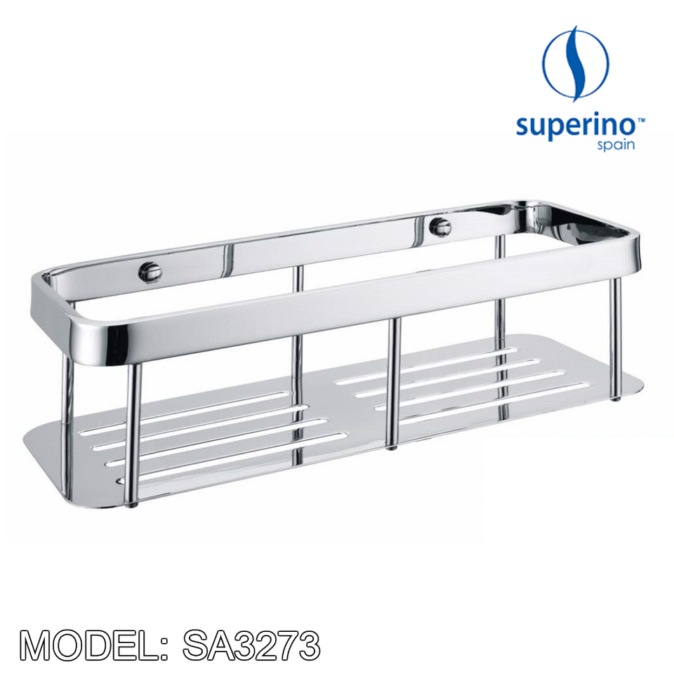 SUPERINO SA-3273 Rectangular Basket / Rack 300mm, Bathroom Accessories, SUPERINO - Topware Solutions