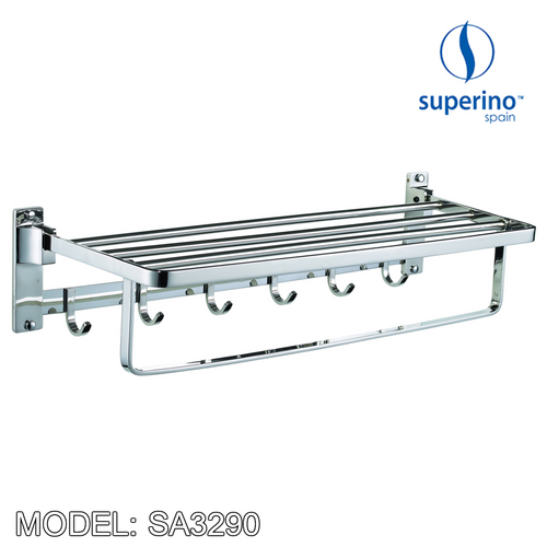 SUPERINO Towel Bar SA3290, Bathroom Accessories, SUPERINO - Topware Solutions