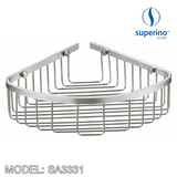 SUPERINO SA3331 Corner Basket / Rack 220mm, Bathroom Accessories, SUPERINO - Topware Solutions