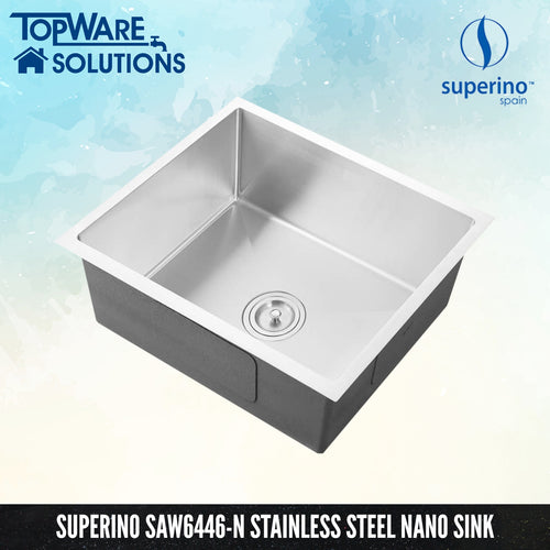 SUPERINO Stainless Steel NANO GREY Sink SAW6446-N