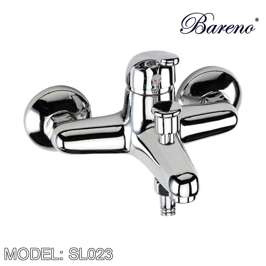 BARENO PLUS Exposed Shower Mixer SL023, Bathroom Faucets, BARENO PLUS - Topware Solutions