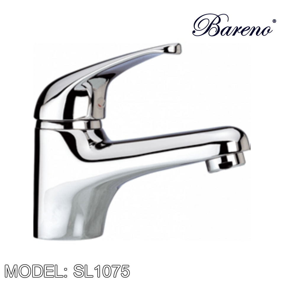 BARENO PLUS Pillar Basin Tap SL1075, Bathroom Faucets, BARENO PLUS - Topware Solutions