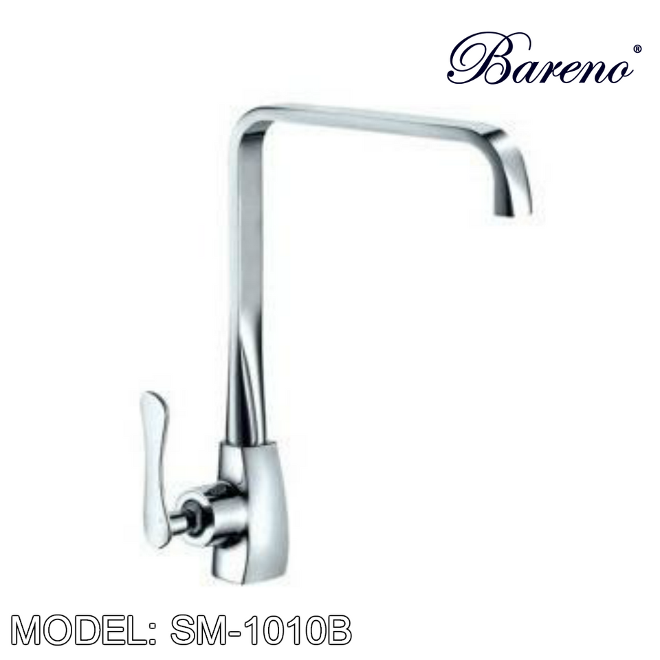 BARENO PLUS Pillar Sink Mixer SM-1010B, Kitchen Faucets, BARENO PLUS - Topware Solutions