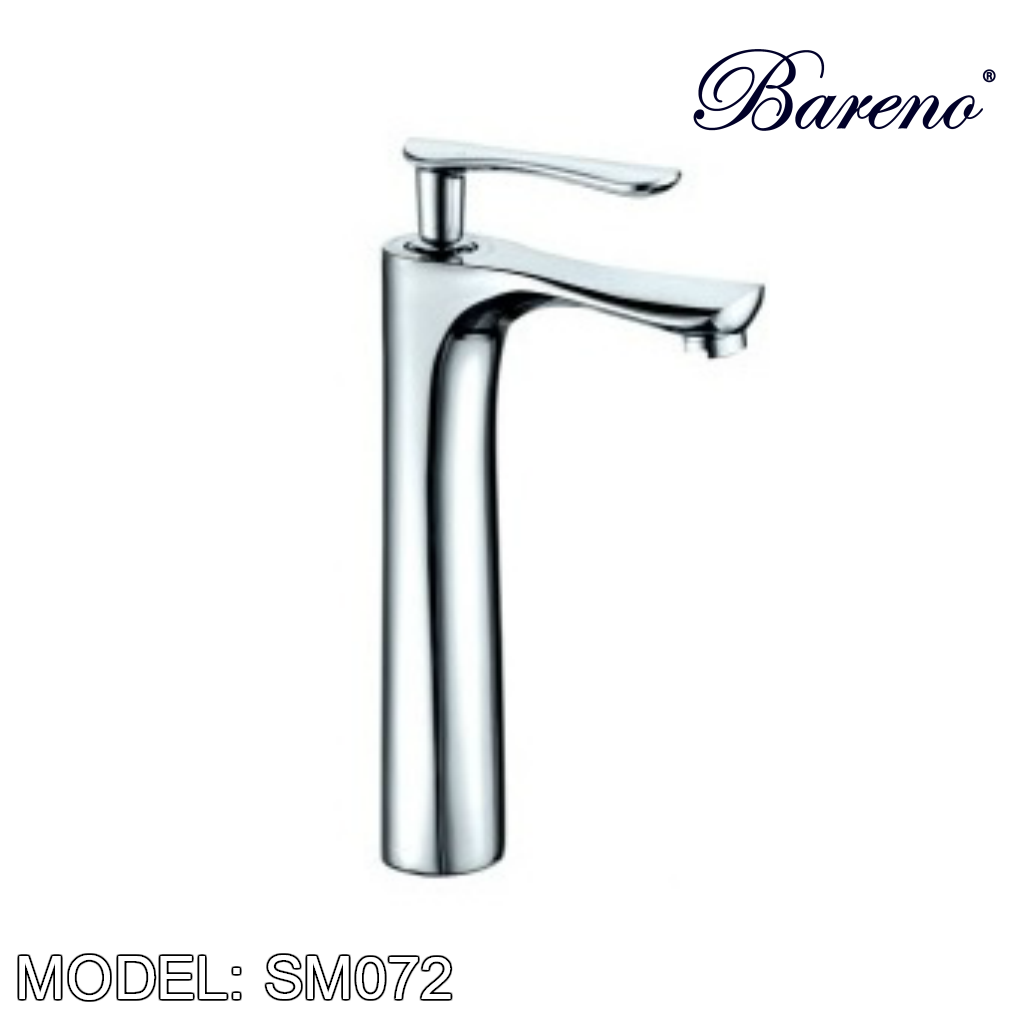 BARENO PLUS Raised Basin Mixer SM-072, Bathroom Faucets, BARENO PLUS - Topware Solutions