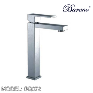 BARENO PLUS Raised Basin Mixer SQ072, Bathroom Faucets, BARENO PLUS - Topware Solutions