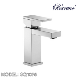 BARENO PLUS Pillar Basin Tap SQ1075 Bathroom Faucets BARENO PLUS - Topware Solutions