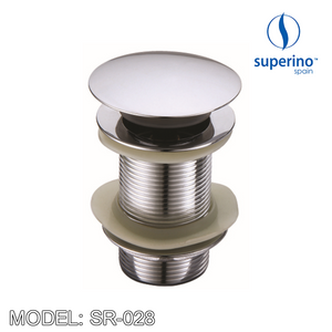 SUPERINO Pop Up Waste SR-028 Without Overflow, Bathroom Accessories, SUPERINO - Topware Solutions