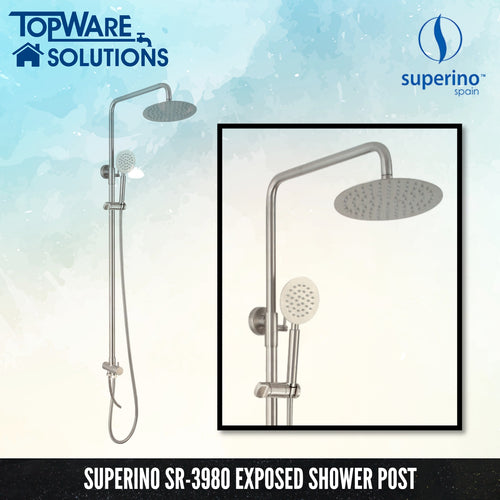 SUPERINO SR-3980 Exposed Shower Post Two Way For Water Heater, Bathroom Faucets, SUPERINO - Topware Solutions