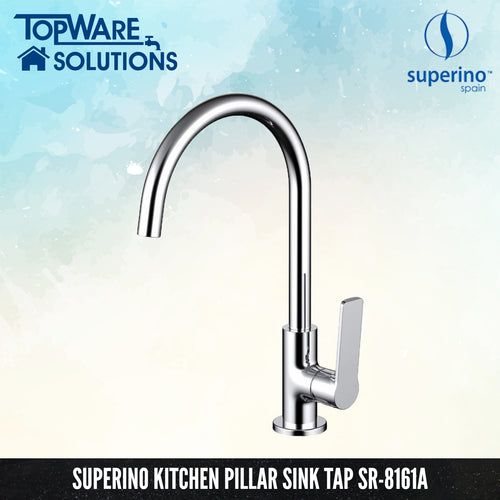 SUPERINO Pillar Kitchen Sink Tap SR-8161A