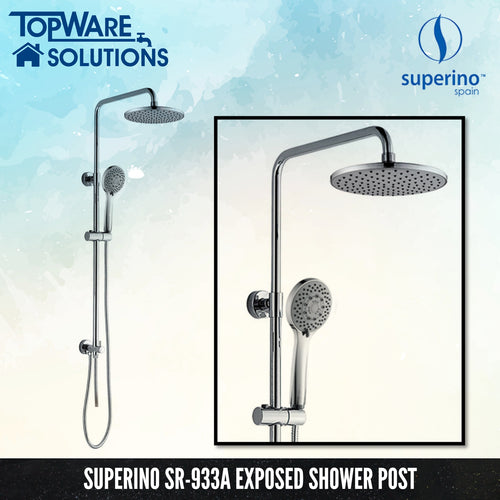 SUPERINO SR-933A Exposed Shower Post Two Way For Water Heater, Bathroom Faucets, SUPERINO - Topware Solutions