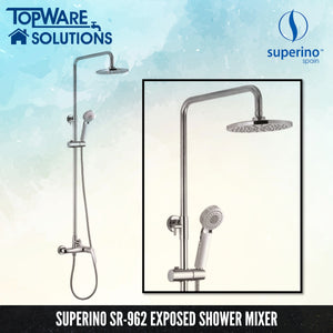 [ LIMITED STOCK ] SUPERINO SR-962 Exposed Shower Mixer Post Two Way, Bathroom Faucets, SUPERINO - Topware Solutions