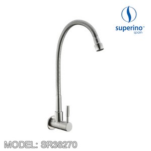 SUPERINO Wall Sink Tap SR38270 Bathroom Faucets SUPERINO - Topware Solutions