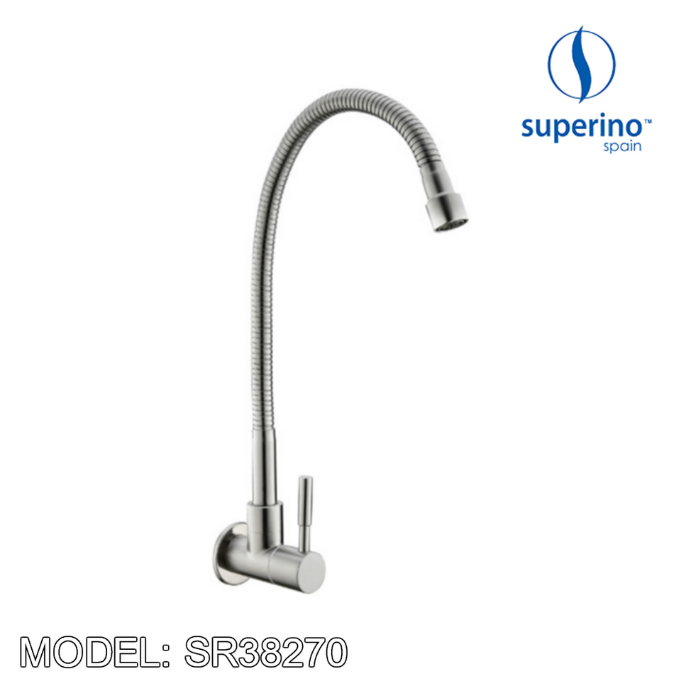 SUPERINO Kitchen Wall Sink Tap SR38270, Kitchen Faucets, SUPERINO - Topware Solutions