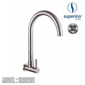 SUPERINO Wall Sink Tap SR38291 Kitchen Faucets SUPERINO - Topware Solutions