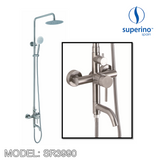 SUPERINO SR-3990 Exposed Shower Mixer Post Three Way, Bathroom Faucets, SUPERINO - Topware Solutions