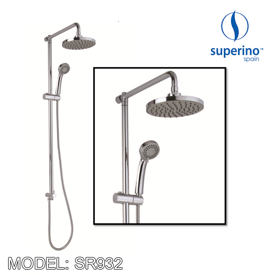 [ LIMITED STOCK ] SUPERINO SR-932 Exposed Shower Post Two Way For Water Heater, Bathroom Faucets, SUPERINO - Topware Solutions