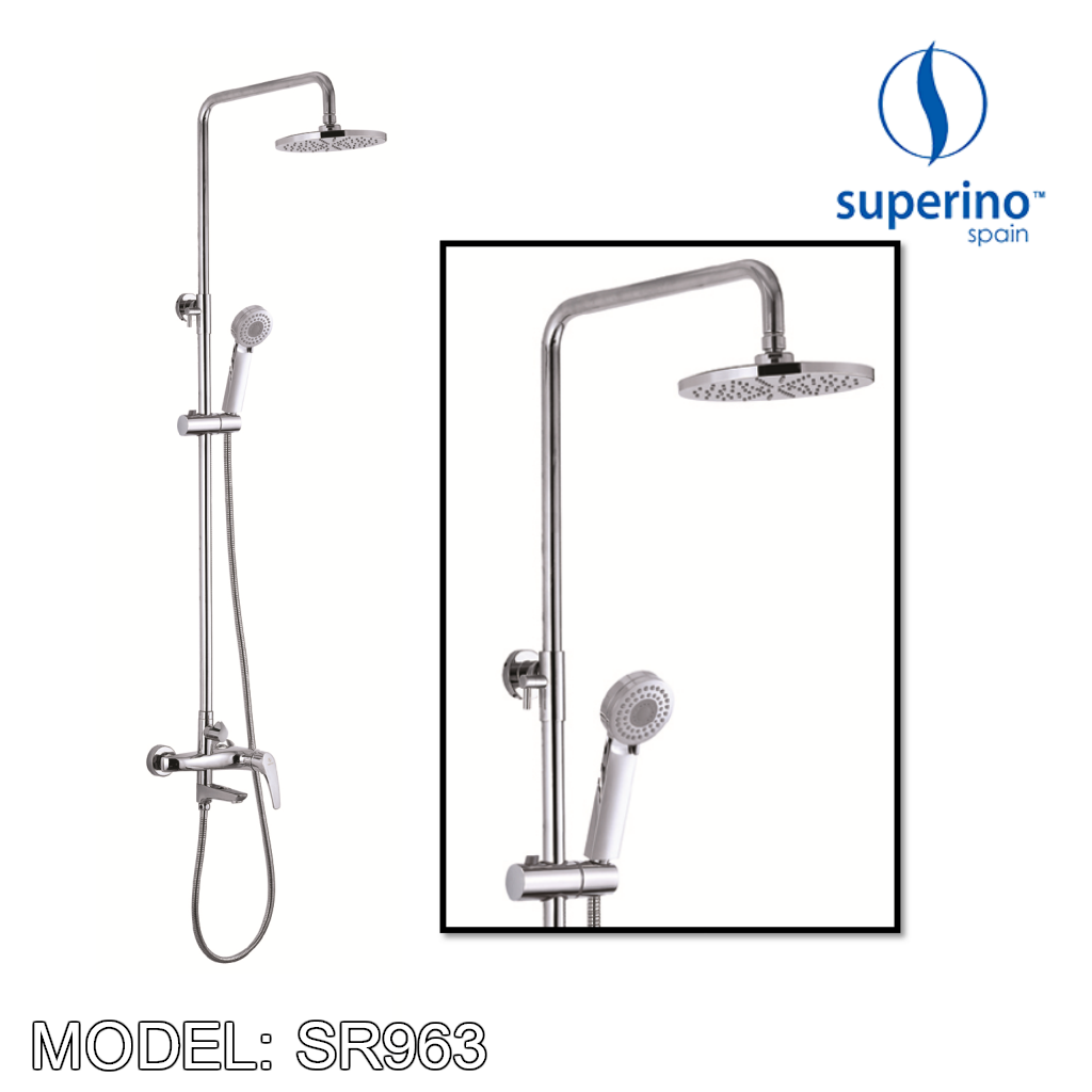 SUPERINO Shower Post SR963, Bathroom Faucets, SUPERINO - Topware Solutions