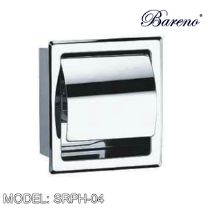 BARENO PLUS Paper Holder SRPH-04, Bathroom Accessories, BARENO PLUS - Topware Solutions
