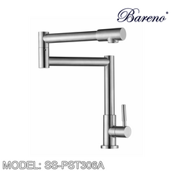 BARENO PLUS Pillar Sink Tap SS-PST-306A Kitchen Faucets BARENO PLUS - Topware Solutions