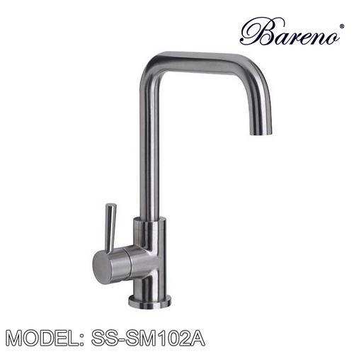 BARENO PLUS Pillar Sink Mixer SS-SM102A, Kitchen Faucets, BARENO PLUS - Topware Solutions