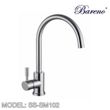 BARENO PLUS Pillar Sink Mixer SS-SM102, Kitchen Faucets, BARENO PLUS - Topware Solutions