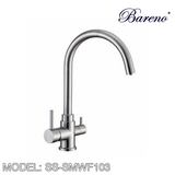 BARENO PLUS Pillar Sink Mixer SS-SMWF103, Kitchen Faucets, BARENO PLUS - Topware Solutions