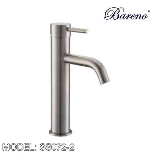 BARENO PLUS Raised Basin Mixer SS072-2, Bathroom Faucets, BARENO PLUS - Topware Solutions