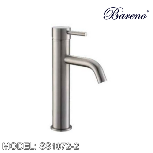 BARENO PLUS Raised Basin Tap SS1072-2, Bathroom Faucets, BARENO PLUS - Topware Solutions