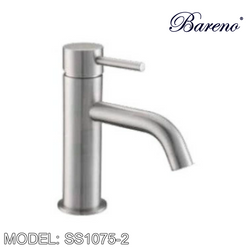 BARENO PLUS Pillar Basin Tap SS1075-2 Bathroom Faucets BARENO PLUS - Topware Solutions